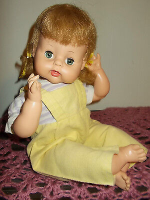 VINTAGE HORSMAN CLOTH BODY DOLL 1964 5-17 16 INCH