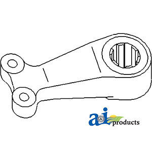 Compatible With John Deere CENTER STEERING ARM R51121 4760 (W/O MFWD), 4755 (W/O