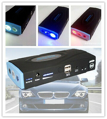 New 12V 38000mAh Auto Car Jump Starter Pack Booster Charger Battery Power Bank