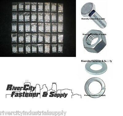 Grade 5 Bolt / Nut / Washer And Lockwasher Assortment - Kit 2160 Pieces