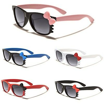 Hello Kitty Kids BABY TODDLER Girls Boy Sunglasses Black White Pink Cute Glasses