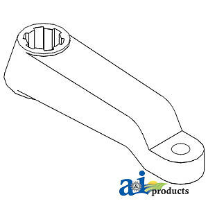 Compatible With John Deere STEERING ARM LH R49851 4760,4755,4650,4640,4630,4560,