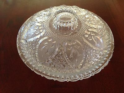 Glass Candy Dish with Lid Made in Indonesia