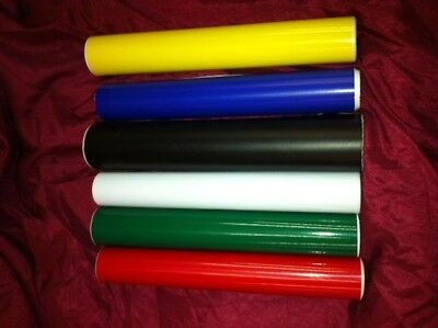 "12"" Sign Vinyl 6 rolls  25 feet each Total ( 150 feet )  Plotter Cutter Sticker"
