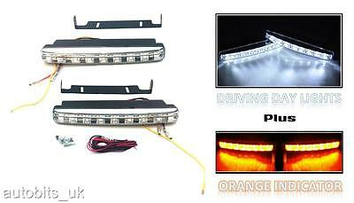 POWERFUL FRONT BULL NUDGE BAR & SPOT SMD LED LIGHTS 12V DAY LAMP SUV CAR 4x4 NEW