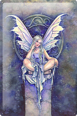 Tin Sign Selina Fenech Fairies Fantasy art goddess mermaid column seal 20x30 cm
