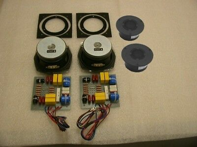 Complete Replacement LS3/5a Driver Kit Pair