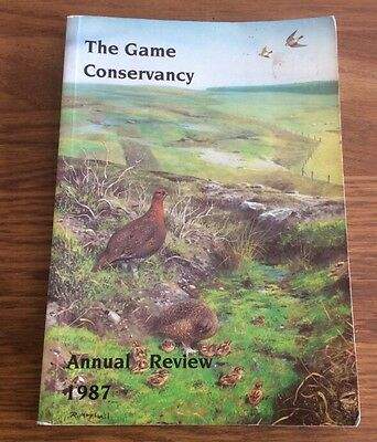 """The Game Conservancy"""" Annual Review for 1987"""