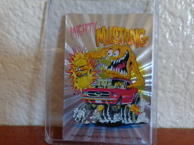 RAT FINK CARDS BY ED ROTH 1998 MIGHTY MUSTANG