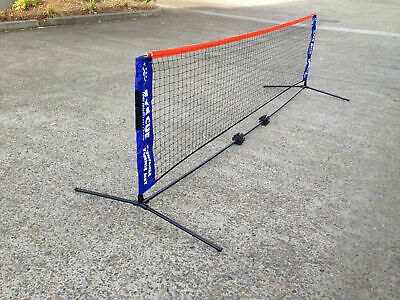 EYE CUE 6-Metre Portable Tennis Net and Post Set with Carry Bag