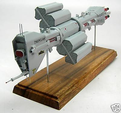 Destroyer Omega Earth Force Babylon-5 Desktop Kiln Dry Wood Model Big