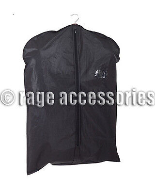 New Travel Suit Bags Hanging Zip Up Coat Dress Garment Cover Clothes Protector