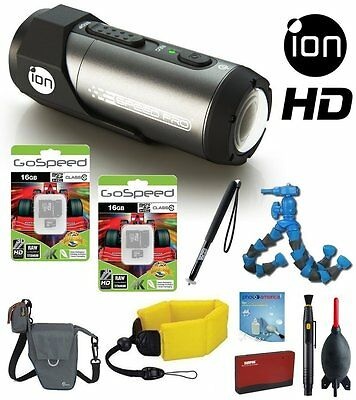 iON Speed Pro 14MP 1080p Full HD WIFI Waterproof Action  Automotive 2 Memory