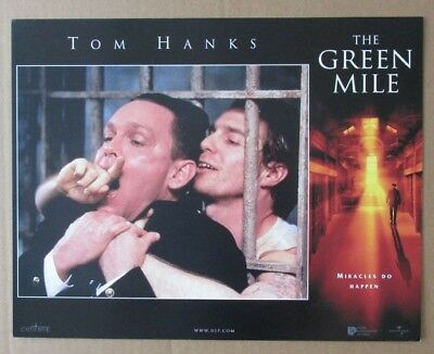 GREEN MILE B MOVIE POSTER LOBBY CARD 1999 ORIGINAL 11x14 TOM HANKS