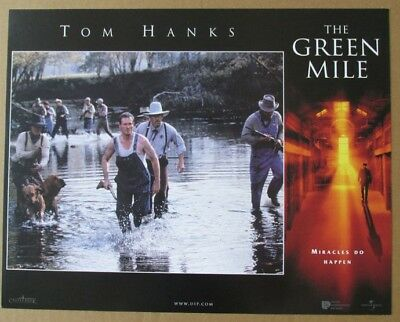 GREEN MILE D MOVIE POSTER LOBBY CARD 1999 ORIGINAL 11x14 TOM HANKS