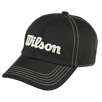 Wilson Base Cap schwarz one size for all