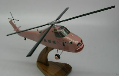 S-58T Sikorsky Screaming Mimi Helicopter Wood Model Free Shipping Regular New