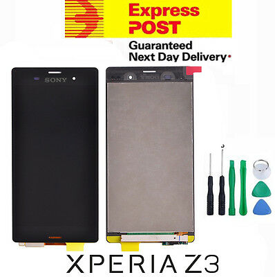 New Sony xPeria Z3 D6603 D6653 LCD Digitizer Touch Screen Display Replacement