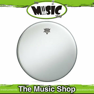 "New Remo Ambassador 14"" Coated White Drum Skin - 14 Inch Drum Head - BA-0114-00"