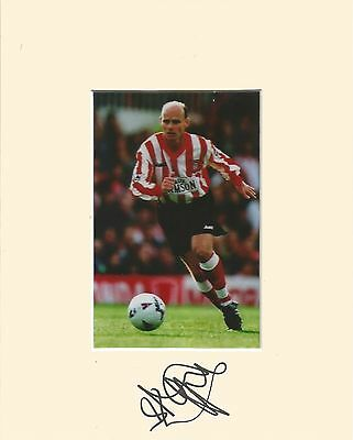 10 x 8 inch mount personally signed by Steve Agnew of Barnsley on 10.02.2015.