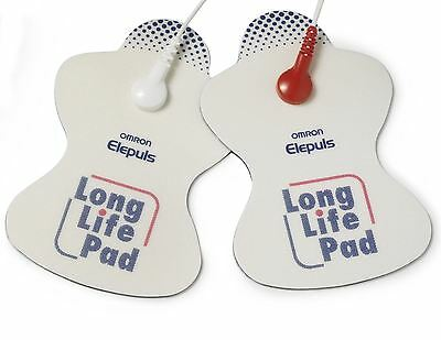 Omron Replacement Long Life Electrode Pads for Electronic Nerve Stimulators TENS