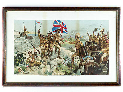 c1900 South Africa Boer War Relief of Mafeking Large Print