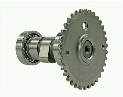 NEW - QMB139 Cam Camshaft & Sprocket, 4-Stroke 50cc Scooter Engine