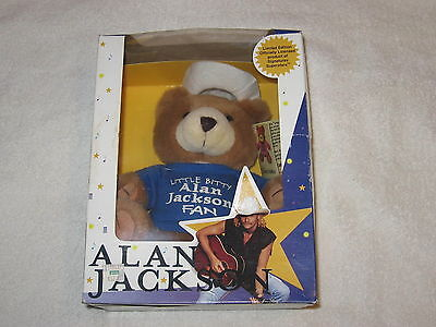 Alan Jackson Country Cuddles Limited Edition 1st In the Series NIB