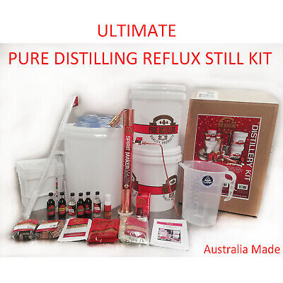 New Pure Distilling Reflux Distillery Kit Copper Condensor make Burbon Whisky