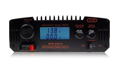 Cb Ham Radio Power Supply Lcd Kps-350-Ii 30Amp 9-15V 13.8V