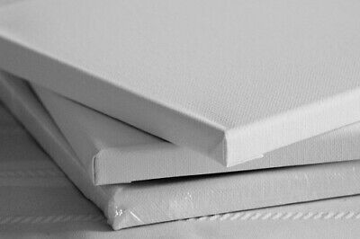 Deep Edge Canvases * SMALL * 38mm  Stretched Blank Plain Gesso Primed Artists