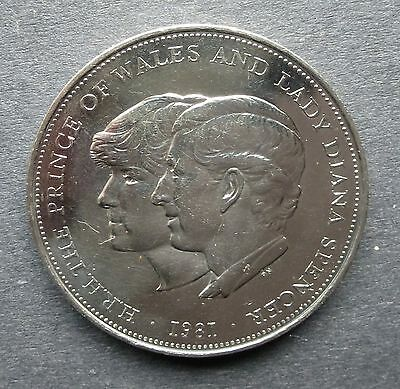 Hrh The Prince Of Wales And Lady Diana Spencer 1981 Commemorative Crown