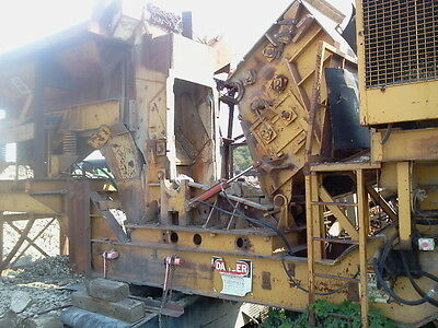 Impact Crusher with Cat Diesel and VGF, Vibrating Grizzly Feeder