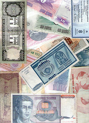 20 pieces -20 Different World Banknotes Foreign Collection Currency Mix 006