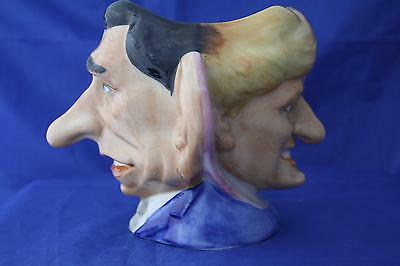 Kevin Francis Spitting Image Charles & Diana Double-Faced Cup / Jug New & Boxed