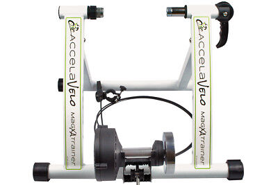 New Indoor Exercise Bike Bicycle Trainer Stand 7 Levels Resistance Stationary #