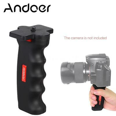 "Wide Platform Pistol Grip Camera Handle 1/4""Screw for DSLR DC Canon Nikon Tripod"