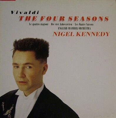 Nigel Kennedy Vivaldi The Four Seasons  German G/FOLD  DMM LP HMV 1989 NM/EX