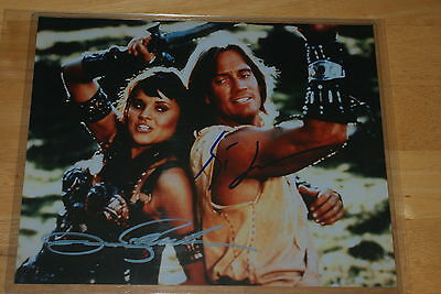 Xena autograph photo #10 Xena & Hercules Lucy Lawless & Kevin Sorbo