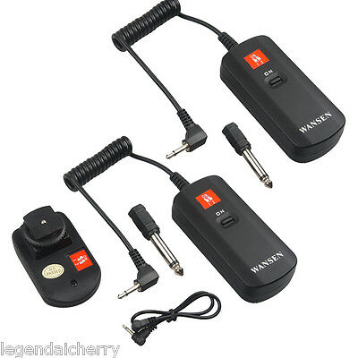 DC-04 4 Channel Wireless Remote Studio Flash Sync Trigger 2 Receiver+Transmitter