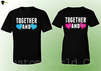 f0398ee471c60 couple matching shirts together me and her him love shirts his and hers  couple