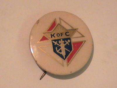 Knights of Columbus - Vintage Fraternal Lapel Pin K of C Member