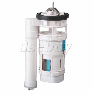 Toilet Connected Water Tank Dual Flush Fill Drain Valve 18cm Height Adjustable