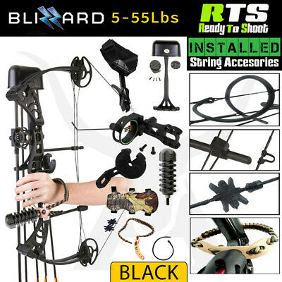 RTS BLIZZARD 5-55 LBS Compound Bow Kit Archery Bow Hunting