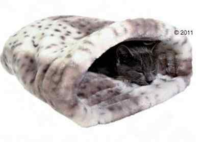 Cat Soft Bed Kitten Cuddly Sleeping Bag Snuggle Sack Igloo Warm Cave Puppy Pet