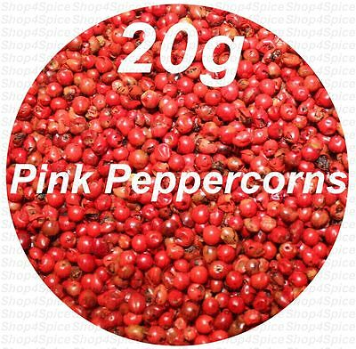 Pink Peppercorns 20g Herbs & Spices - ozSpice