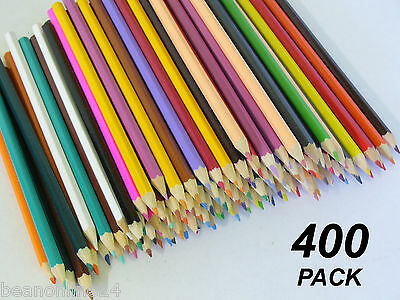 Bulk 400 Pack Colour / Coloured Pencils