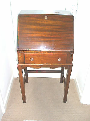 "Art Deco Mahogany Ladeis Writting Bureau with  Drawer  41""H22""W 16""D"