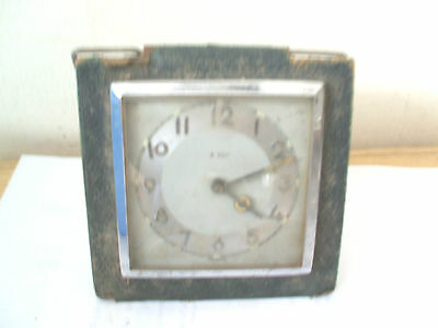 "German Winding Movement Travelling Alarm Clock 3.5""L"