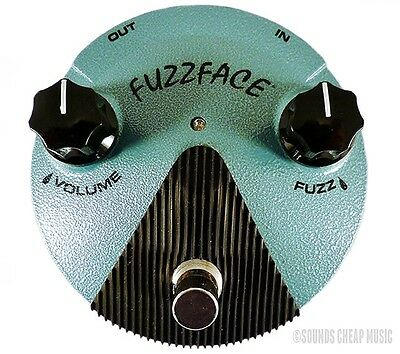 New! Dunlop FFM3 Jimi Hendrix Fuzz Face Mini Distortion - Free US 48 Shipping!